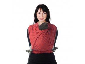 BB-SLEN šátek na nošení dětí col. 924 red chili