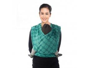 BB-SLEN šátek na nošení dětí col. 925 wasabi