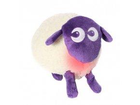 Ewan - uspávací ovečka - fialová