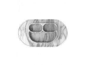 Jednodílná jídelní podložka silikon - Marble