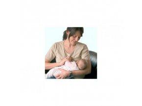 Triko pro kojení krátký rukáv JENNA - BÉŽOVÉ