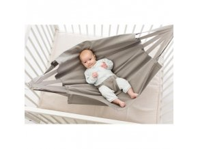 Baby Hammock závěsné houpací lůžko pro miminko col. 280 taupe