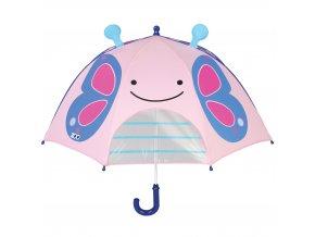 SKIP HOP Zoo deštník s okénkem na výhled Motýl 3+