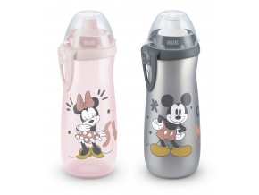 NUK FC Láhev Sports Cup, Disney - Mickey 450 ml, SI push-pull pítko