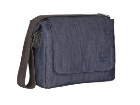 Green Label Small Messenger Bag Update 2019 denim blue