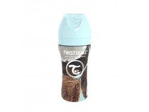 Kojenecká láhev Anti-Colic nerezová 330ml Kokos
