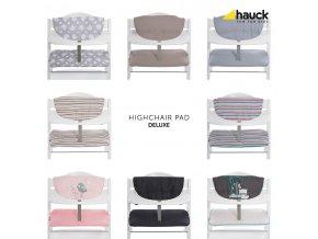 Hauck Potah DeLuxe 2019 na jídelní židličku Alpha