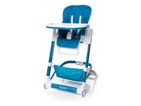 Jídelní židlička ICON barva BLUE