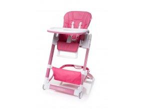 Jídelní židlička ICON barva DARK PINK