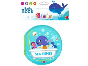 knížka do koupele mořské zvířátka