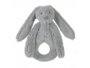 Happy Horse Chrastítko králíček Richie světle šedé  Velikost: 18 cm