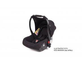 BabyMonsters LUNA autosedačka (bez stříšky)