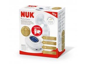 NUK Nature Sense prsní pumpa + sada na kojení NUK