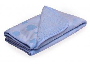 Scamp deka minky, modrá