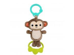 Hračka s melodií na C kroužku Tug Tunes opice 0m+