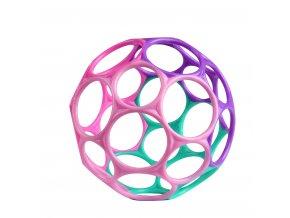 Hračka Oball Classic 10 cm růžovo/fialová 0m+