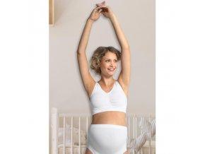 CARRIWELL Těhotenská podprsenka - BÍLÁ