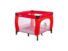 Dětská skládací ohrádka CARETERO Quadra red