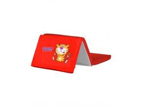 Skládací matrace do postýlky CARETERO Tiger červená