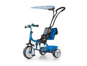 Dětská tříkolka Milly Mally Boby Delux 2015 blue