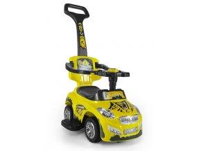 Dětské jezdítko 2v1 Milly Mally Happy yellow