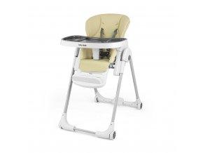 Jídelní židlička Milly Mally Milano beige