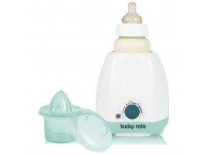 Elektrický ohřívač lahví a dětské stravy s příslušenstvím Baby Mix zelený