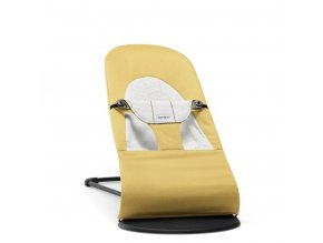 Lehátko Babybjorn Balance Soft Yellow/grey cotton Jersey