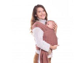 BOBA Nosič dětí / šátek Boba Wrap Print Hali