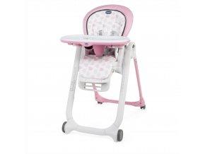 CHICCO Židlička jídelní Polly Progres5 - Pink