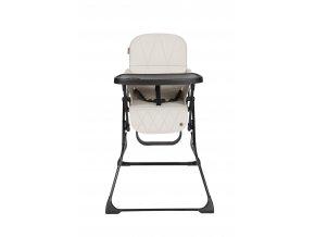 LUCKY jídelní židle, šedo-béžová