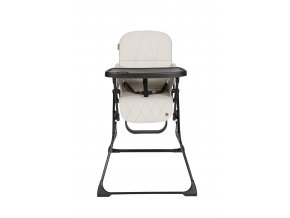 Topmark LUCKY jídelní židle, šedo-béžová