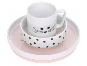 Dish Set Porcelain Little Chums mouse