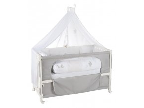 16300-3 Postýlka Roba Room Bed Fox&Bunny - bez dřevěné bočnice S168
