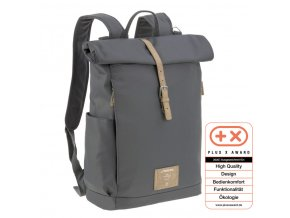 Green Label Rolltop Backpack anthracite