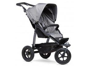 Mono stroller - air wheel grey