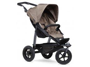 Mono stroller - air wheel brown