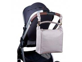 BabaBing Lucia přebalovací taška/ batoh, Grey Blush