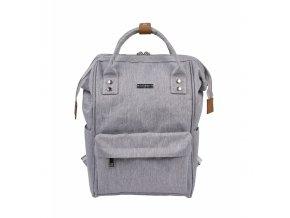 BabaBing Mani přebalovací taška/ batoh, Grey Marl