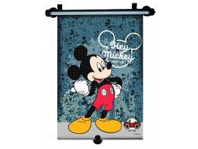 Stínítko na okno auta stahující 1 ks Mickey Mouse