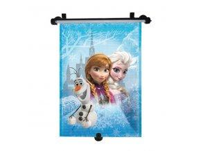 MARKAS Stínítko na okno auta stahující Frozen 1 ks