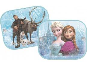 Stínítko na okno auta 2ks Frozen