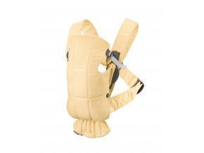 Babybjorn nosítko MINI Light Yellow cotton limitovaná edice