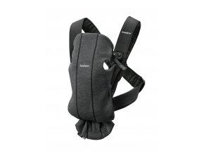 Babybjorn nosítko MINI Charcoal Grey  3D Jersey