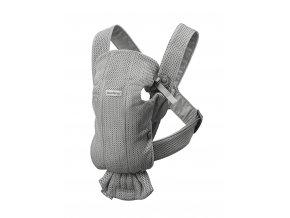 Babybjorn nosítko MINI Grey 3D Mesh