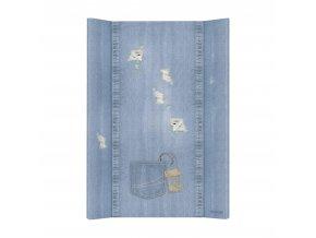 Podložka přebalovací měkká 2-hranná 70x50 cm Denim Style Shabby blue Ceba