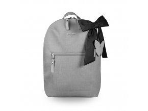 Beztroska Miko batůžek s mašlí light grey