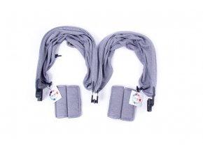 BabyMonsters EASY TWIN c/p-i 2x-h.grey
