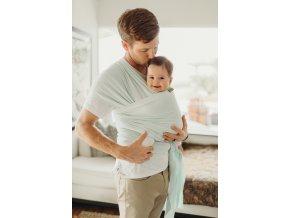 BOBA Nosič dětí / šátek Wrap Pale Blue