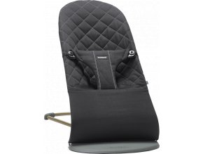 Lehátko Babybjorn Bouncer Bliss Black cotton